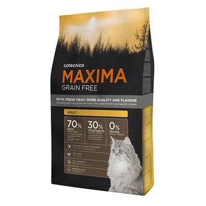 Croquettes sans céréales chat adulte - Cotecnica Maxima Grain Free 1 kg