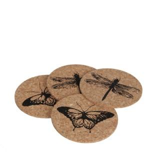 Dessous-de-verre corky x 4