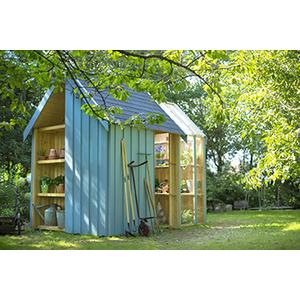 Abri De Jardin Serre Vertigo Bois Brut 3,15 X 2 M