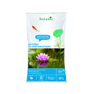 Substrat plantes aquatiques 20L