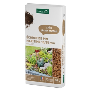 Ecorce de pin maritime 10/25 mm 60 L