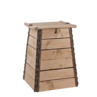 Composteur bois botanic® 150 litres - 50 x 50 x 75 cm