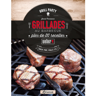 Livre de recettes «Grillades au Barbecue»