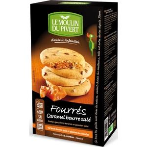 Cookies Caramel Beurre Salé bio 175 g LE MOULIN DU PIVERT
