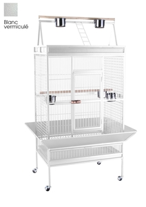 Cage perroquet XL Extra Large blanche