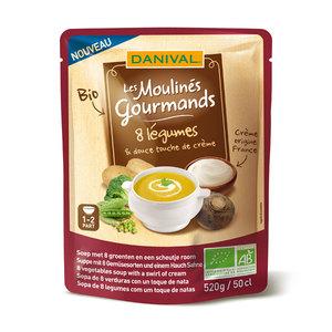 Soupe 8 légumes touche de crème DANIVAL