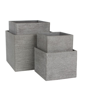 Pot carré bas STREAM S/4