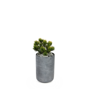 Pot rond STREAM Anthracite Ø.27 x H.40 cm