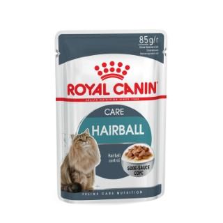 Hairball Care Sauce Aliment pour chat en sachet de 85 g 230547