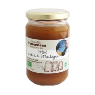 Miel de montagne bio - 375 gr