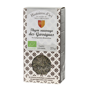 Thym sauvage des garrigues de Provence Histoire d'ici 25 g