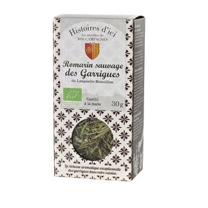 Romarin sauvage des garrigues de Provence Histoire d'ici 30 g 232805