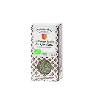 Mélange herbes des garrigues de Provence Histoire d'ici 25 g