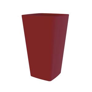 Pot haut Glame H65,3 cm x d.39,2 cm rouge