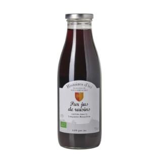 Pur Jus De Raisin 100 % Bio Languedoc Histoire D'ici 75 Cl