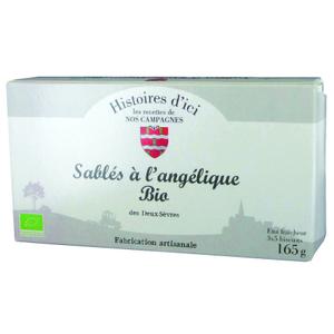 Sables bio pur beurre  Angelique Histoire d'ici 165 g