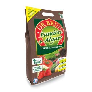 Fumier et Algues compostés Or Brun 10 Kg 233586