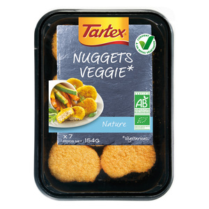 Nuggets veggie 154 g