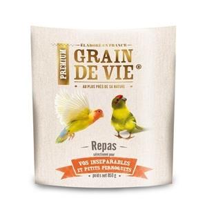 Mélange petit perroquet, inséparable et kakariki premium 850 g