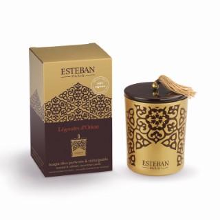 Bougie parfum Rechargeable Lég.orient ESTEBAN 171 gr