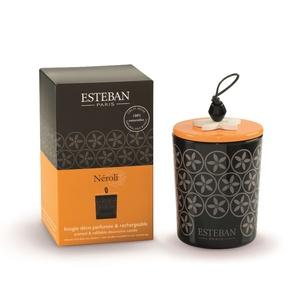Bougie parfum Rechargeable Neroli ESTEBAN 170 gr