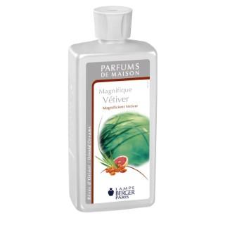 Parfum magnifique vetiver Lampe Berger 500 ml