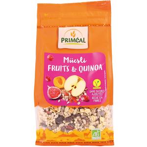 Muesli quinoa fruits 350 g PRIMEAL