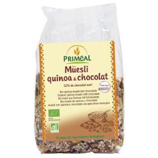 Muesli quinoa chocolat 350 g PRIMEAL