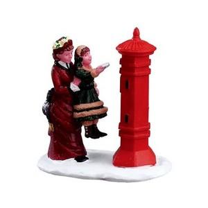 Figurine Lemax Lettre au Père Noël collection Caddington Village