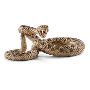Figurine Serpent à sonnette Série Animaux Sauvages 6,3x3,9x2,5 cm 245556