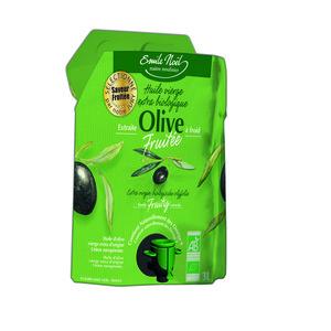 Huile olive vierge extra bio fruitée 3L EMILE NOEL