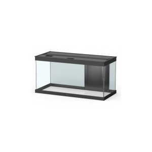 Aquarium style LED 80 avec contours noirs 80 x 40 x 35 cm