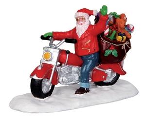 Pere Noel En Moto