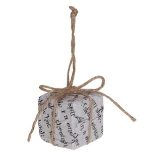 Paquet cadeau à suspendre