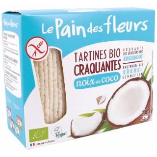 Tartines craquantes noix de coco 150 g PAIN DES FLEURS