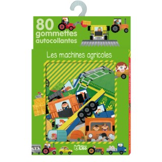 Les Machines Agricoles Ma Boîte à Gommettes 3 ans Éditions Lito 250834