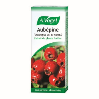 Extrait de plante fraiche d'aubépine bio en flacon de 50 ml 252855