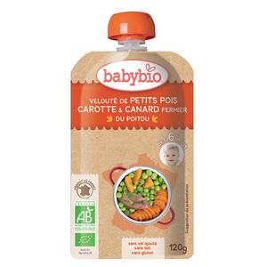 Gourde Légumes Canard Fermier bio 120 g BABYBIO
