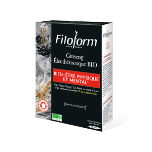 Ginseng + Eleuthérocoque 20 ampoules FITOFORM