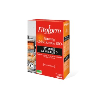 Ginseng + Gelée Royale 20 ampoules FITOFORM