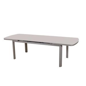 table et chaise de jardin table pliante extensible en aluminium ou bois botanic botanic. Black Bedroom Furniture Sets. Home Design Ideas