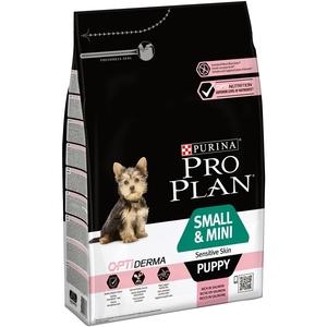Croquettes pour chiot de petite taille peau sensible Pro plan 3 kg 257586