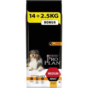 Croquettes pour chien adulte de taille moyenne Pro plan 14,5 + 2 kg 257629