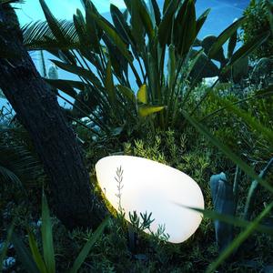 Galet lumineux blanc Stony LUMISKY