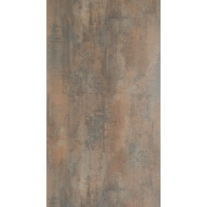 Plateau fin HPL marron ferro de 90 x 90 x 1,3 cm 259093