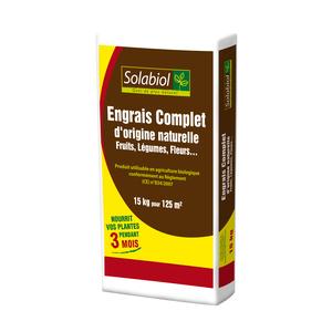 Engrais Complet Organique 15 kg 8x38x71cm 259242