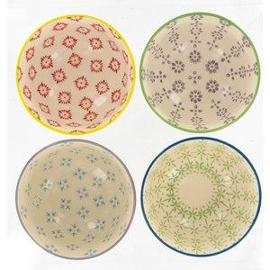 Coffret 4 bols en céramique