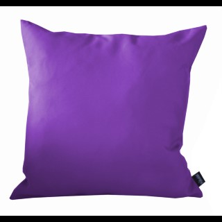 Coussin polyester cassis 40x40 cm