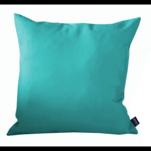 Coussin polyester bleu 40x40 cm