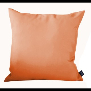 Coussin polyester orange 40x40 cm